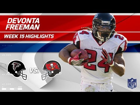 Video: Devonta Freeman's 194 Total Yards & 1 TD vs. Tampa Bay! | Falcons vs. Buccaneers | Wk 15 Player HLs