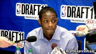 Brandon Knight - 2011 NBA Draft - Media Day Interview