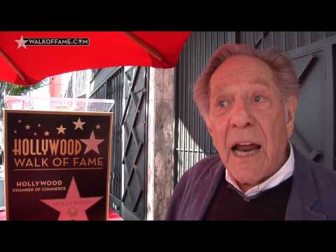 George Segal Walk of Fame Ceremony