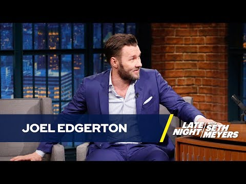 Joel Edgerton's It Comes at Night Co-Star Bit Him (видео)