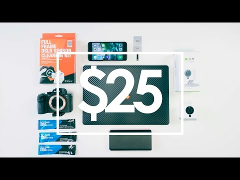 BEST TECH UNDER $25 - April 2017