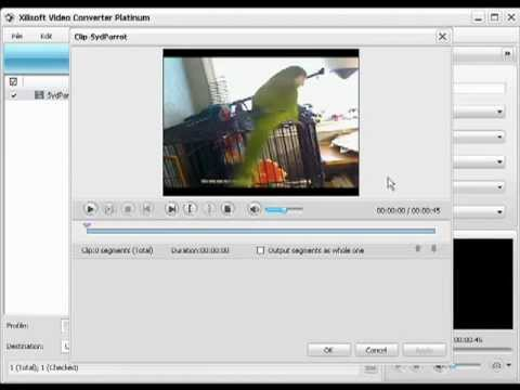 How to Convert Video File Format with Xilisoft Video Converter