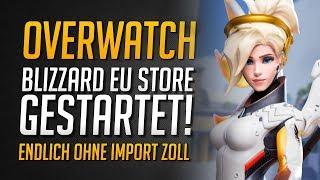 EU BLIZZARD SHOP ENDLICH LIVE!   Overwatch League und Overwatch Merchandise • Overwatch Deutsch