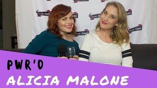 Video PWR'D by Geek Bomb: Alicia Malone! MP3, 3GP, MP4, WEBM, AVI, FLV Juni 2018