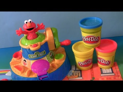 color - This is called play-doh color mixer sesame street. Spin the color wheel and Elmo will name the colors as they go by; when the wheel stops on color, Elmo will talk about that color! Kids mix...