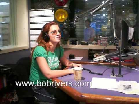 Comedian April Macie in The Bob Rivers Show, May 23, 2008