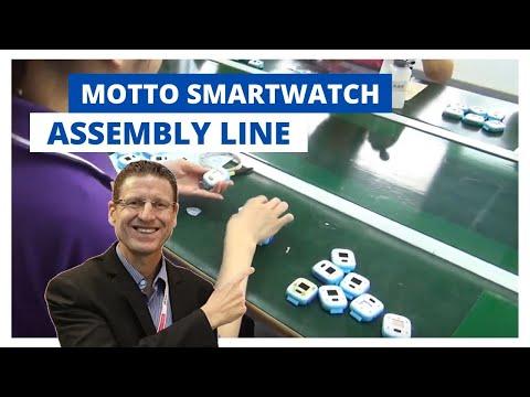 Motto Smartwatch Assembly Line Walk Through