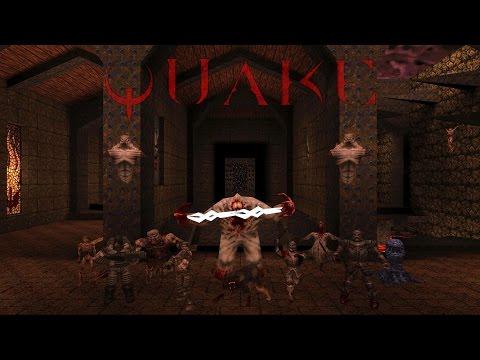 Quake (все секреты первого уровня)