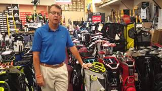Huge Selection of Bags at Plaza Golf