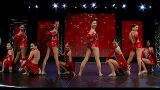 2nd Overall Age 11 Junior Jazz Large Group Choreographed: Paula Kessinger and Shelley Lawrence West Coast School of the...