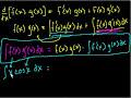 Indefinite Integration – Part V Video Tutorial