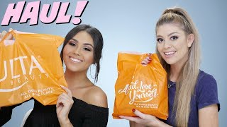"CHECK OUT ROXETTE'S VIDEO: https://youtu.be/0vfu0X869S8(DON'T FORGET TO LEAVE #MILLERSQUAD IN THE COMMENTS)Thank you all for watching my drugstore ulta haul with Roxette Arisa. I hope you all enjoyed our drugstore ulta haul. All products shown are listed and linked down below. Make sure to head over to Roxette's channel and watch her video! Don't forget to subscribe! Love you all and hope you all are having an amazing day!FTC DISCLAIMER: Always full disclosure here! This video is not sponsored. Some links are affiliate links.------------------------------------↓ ALL PRODUCTS LISTED DOWN BELOW ↓→ MY VLOG CHANNEL  http://bit.ly/1TxBSRl→ CHECK OUT MY BLOG WEBSITE  http://madisonmillerblogs.comTWITTER  INSTAGRAM  SNAPCHAT  TUMBLR  PINTEREST  madison89miller------------------------------------UPS Mailbox:10531 4s Commons DR. #222San Diego, CA 92127Business Inquiries Only: madisonbusiness@ipsy.com------------------------------------♡ HUGE ULTA HAUL ♡→ NYX PERFECT FILTER PALETTE: http://bit.ly/2sp84jX → MAKEUP REVOLUTION SKIN KISS: http://bit.ly/2spalM2 → WET & WILD EYESHADOW TRIOS: http://bit.ly/2r6j2a8 → B&H COSMETICS LIQUID LIPS: http://bit.ly/2r5TTwy → MAKEUP REVOLUTION SHIMMER BRICK: http://bit.ly/2r699th → MAYBELLINE MATTE AND PORELESS FOUNDATION: http://bit.ly/2spiFvm → EYLURE 121 LASHES: http://bit.ly/2r5KV2d → ULTA Z PALETTES: http://bit.ly/2soH9Fi → ECO TOOLS SPONGES: http://bit.ly/2sp8VBb → MAYBELLINE DREAM LUMI: http://bit.ly/2r62Wxp  ------------------------------------♡ MAKEUP BRUSHES COUPON CODES ♡→ LUXIE BRUSH 20% OFF ""MADISON20"" http://bit.ly/1GR2NDV → SIGMA 10% OFF ""MADISON"": http://bit.ly/1WH5v21 → SLMISSGLAM 40% OFF ""MadisonM"" ALL BRUSH BOOKS http://bit.ly/1L9Tkdl → SLMISSGLAM 30% OFF ALL GLAM SETS ""MadisonMiller http://bit.ly/1L9Tkdl  ------------------------------------♡ COUPON CODES ♡→ EBATES GET CASH BACK: http://bit.ly/1V31neY → EMILE CORDON LIP POTS (AMAZING!): http://bit.ly/2mXyCmO→ FACETORY USE CODE ""MADISON20"" FOR 20% OFF https://www.facetory.com → BECAUSE OF CASE PHONE CASES USE CODE ""MADISONMILLER10"" FOR 10% OFF http://bit.ly/2hM10rY → LOVING TAN USE CODE ""MADISON"" FOR A FREE TANNING MITT: http://bit.ly/26ihLwt → SPONGELLE (BEST BODY BUFFERS!) USE CODE ""MADISON20"" FOR 20% OFF: http://spongelle.com→ OFRA COSMETICS (30% OFF USE CODE ""MADISON30""): http://bit.ly/218VA6P→ SUBSCRIBE TO BOXYCHARM: http://mbsy.co/dpqQz → BELFIORE EYESHADOWS (20% OFF ""MADISON""): http://bit.ly/1LERcoM→ THE ORIGINAL BEAUTYBOX (15% OFF ""LOVEMADISON15""): http://bit.ly/1QwHiXC→ 40% OFF GLAM BRUSH BOOK (USE CODE ""MadisonM""): http://bit.ly/1L9Tkdl→ MILLION DOLLAR TAN (20% OFF ""MADISON20""): http://bit.ly/1kehmRw→ ROCKSBOX (USE CODE ""madison89millerxoxo"" FOR 1 FREE MONTH): http://bit.ly/1zlI9nQ"