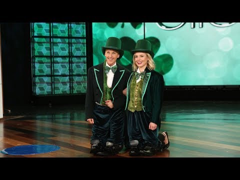 Ellen Says 'Cheers' to St. Patrick's Day!