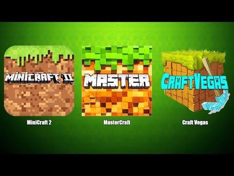 Craft Vegas,MasterCraft,MiniCraft 2,Крафт Вегас,Мастер Крафт,МиниКрафт 2