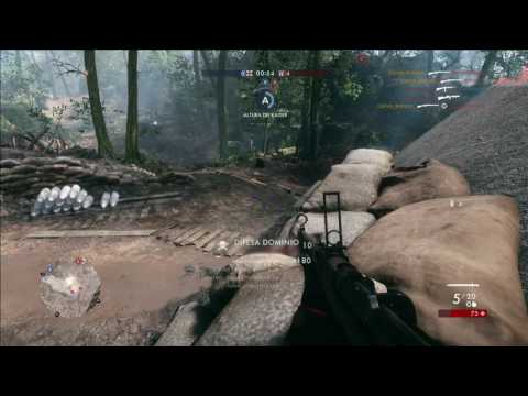 Battlefield 1 csgo mode on 4 kills no scope