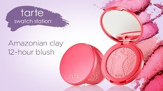 swatch: Amazonian clay 12-hour blush
