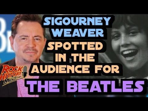A Very Young Sigourney Weaver Spotted on Vintage Beatles Footage