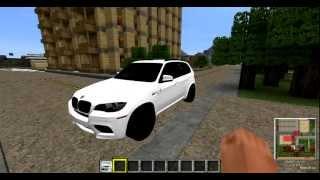 Minecraft 1.4.7 Crazy Car Mod BMW X5 (inkl. Downloadlink)