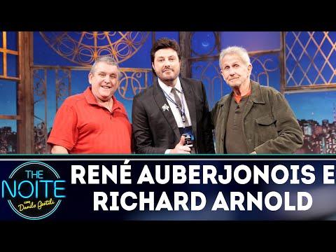 Entrevista com René Auberjonois e Richard Arnold   The Noite (15/08/18)