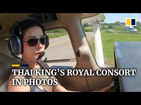 Rare images of Thai king's royal consort cause palace website to crash