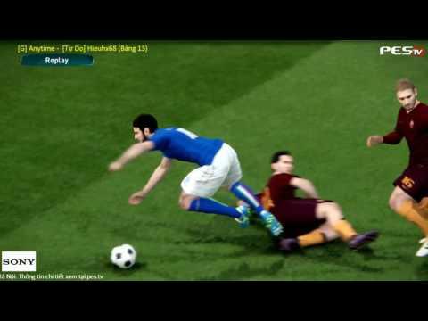 PES 2017 | [G]Anytime (ROM) vs Hieuhx68 (ITA) | PES Random Cup 2016 | Group 13