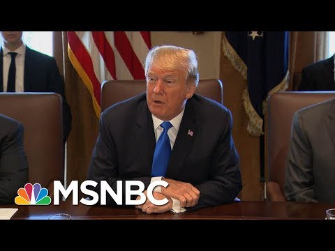 "President Donald Trump Blames Democrats For ""Not Good"" Shutdown 