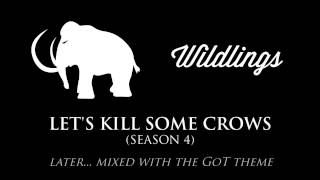 The Wildlings theme that often plays in the soundtrack when they're on screen, or when a plot-point involving them is taking place.Check out the playlist for more themes, including an awesome hour-long compilation of all of them! Just press play, sit back & enjoy.Music composed by: Ramin DjawadiFont: Wisdom Script by James T. Edmondson