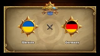 GER vs UKR, game 1