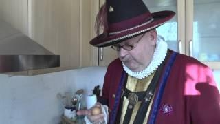 Sächsische Kartoffelpuffer mit Schinkenwürfel