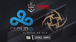 Cloud9 vs NiP - ELEAGUE Premier 2017 - de_mirage [ceh9, MintGod]