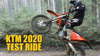 10. KTM 2020 exc 500 450 250 - Test ride