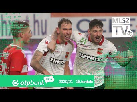 15. forduló: Honvéd - DVTK 5-1 (2-0)