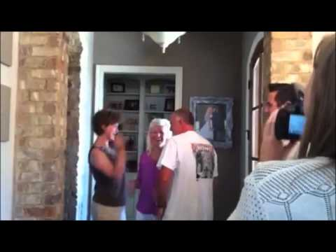 grandparents - Babies were inserted in ALL the cupcakes to surprise grandparents to be. See how excited they are!!!!