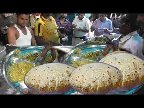 Video 4 Roti 3 Sabji Curry Only 24 rs Per Plate   Kolkata Street Food   Indian People Enjoy Roadside Food download in MP3, 3GP, MP4, WEBM, AVI, FLV January 2017