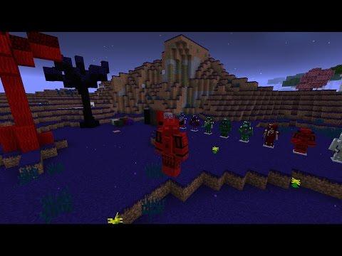 Abyssalcraft 1.10 Minecraft Tutorial/Showcase Pt. 1: World Gen and Basics