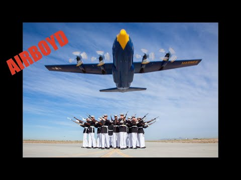 The Blue Angels and the Marine Corps Silent Drill team - AMAZING!