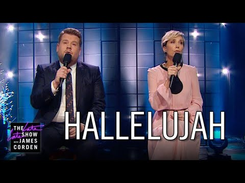 Kristen Wiig Struggles with 'Hallelujah'