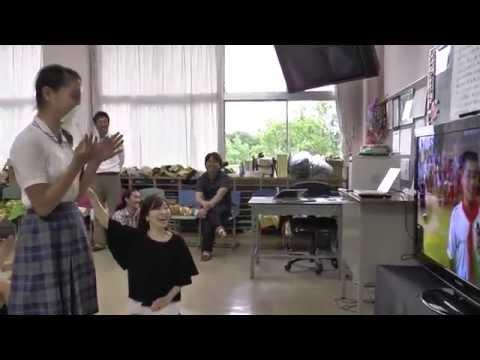 森村学園初等部と中国北京万泉小学校との国際交流会