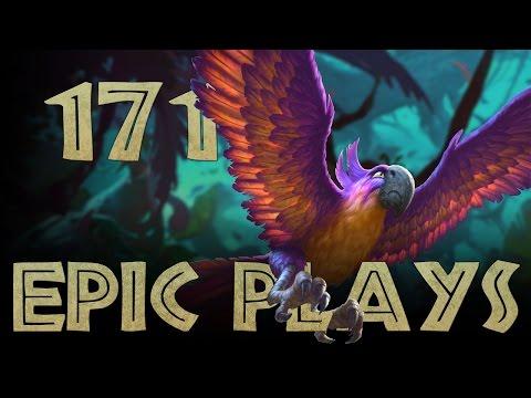 Epic Hearthstone Plays #171 (видео)