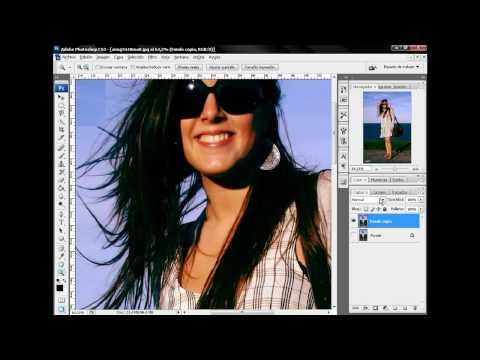 Tutorial Photoshop: Recortar cabello con Canales