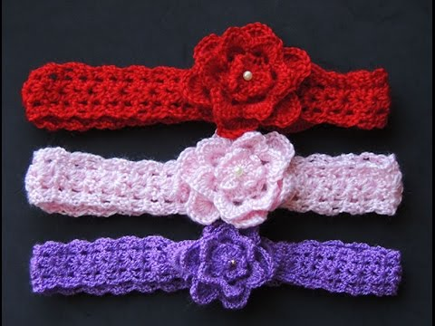 Crochet : Cintillo o Diadema