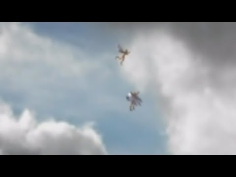 TWO ANGELS CAUGHT ON CAMERA FLYING IN BRAZIL (EXPLAINED)