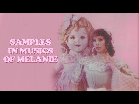 músicas da melanie martinez que possuem samples 🎼