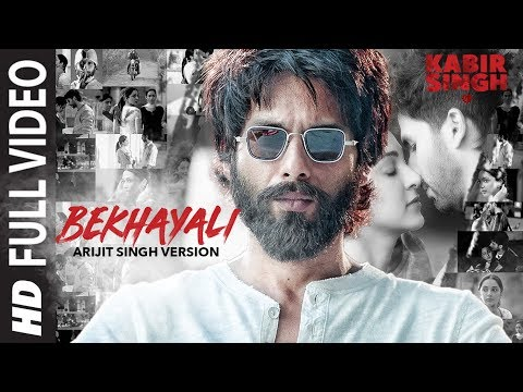 Download ARIJIT SINGH VERSION: Bekhayali Full Song | Kabir Singh | Shahid K,Kiara A | Sandeep Reddy V| Irshad hd file 3gp hd mp4 download videos