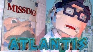 Minecraft Laboratory - CODY CAUGHT ON SECURITY CAMERA! (Atlantis Roleplay)