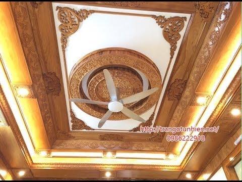 Những mẫu trần gỗ tự nhiên pơ mu đẹp sang trọng nhất trên Thị trường Việt Nam