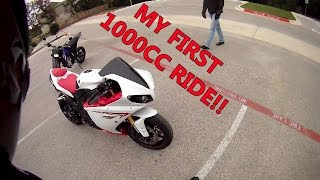 5. MY FIRST 1000CC RIDE! 2009 R1