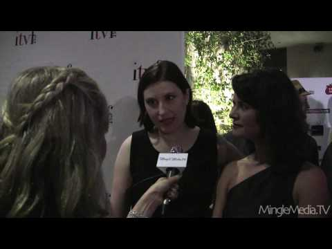 Taryn O'Neill - Mingle Media TV coverage of the Red Carpet and opening Gala Event for the 2010 ITVFest with correspondent Kristyn Burtt (Independent TV Festival) http://www....
