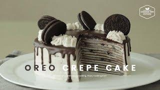 Video 오레오 크레이프 케이크 만들기 : Oreo Crepe Cake Recipe - Cooking tree 쿠킹트리*Cooking ASMR MP3, 3GP, MP4, WEBM, AVI, FLV November 2018