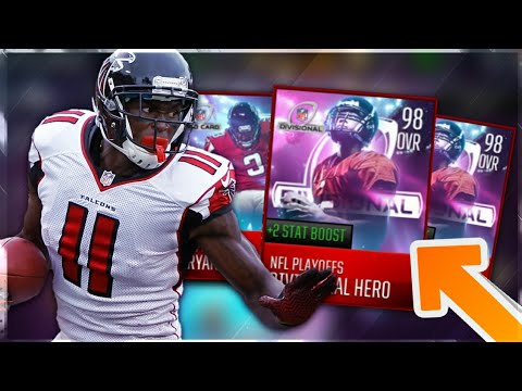 FREE 98 OVR BOOSTED PLAYOFF MASTER!! MADDEN MOBILE 18 DIVISIONAL ROUND PICKS AND ANALYSIS!